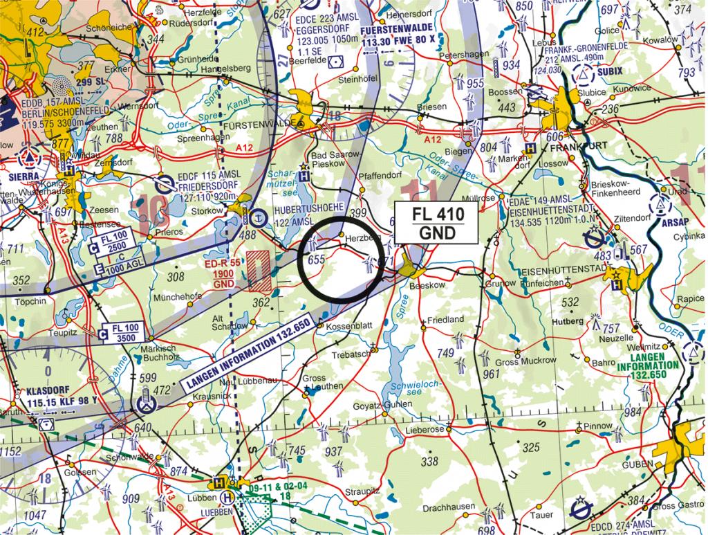 ICAO KArte EDR Lindenberg